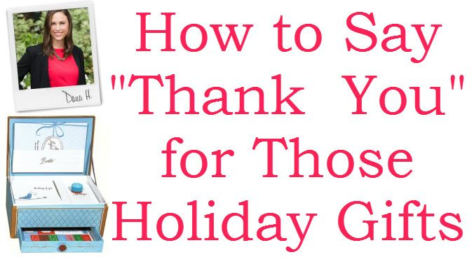 Thank You Gift Etiquette The Best Ways To Thank Those For