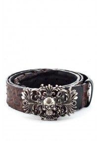 Philipp Plein | 'Probaroque' Belt Black | Boudi UK #PhilippPlein #Summer #Sale #SS14