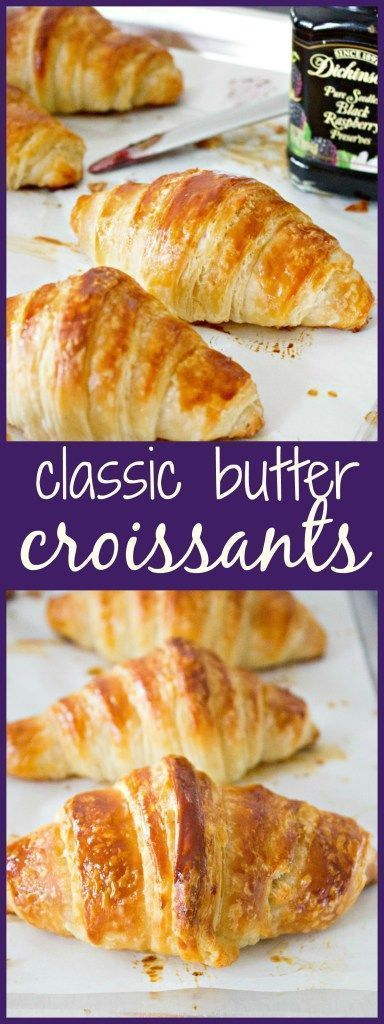 classic butter croissants