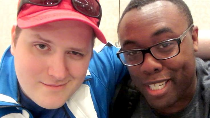 Black Nerd Meets LINKARA (Atop the 4th Wall, That Guy With The Glasses) and 90s Kid at Midwest Media Expo