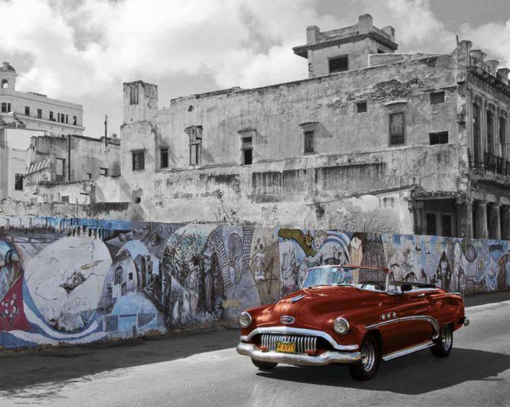 Vintage car in Havanna