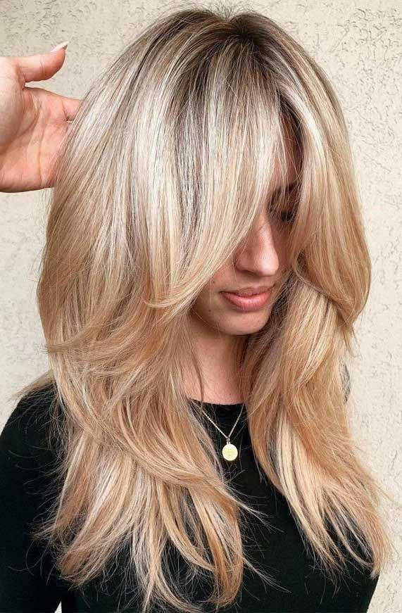 Layered Hair Short Layered Haircuts For Thick Hair Layered Haircuts For Thin Hair Layered Hair 202 In 2020 Haircuts For Long Hair Thick Hair Styles Long Hair Styles