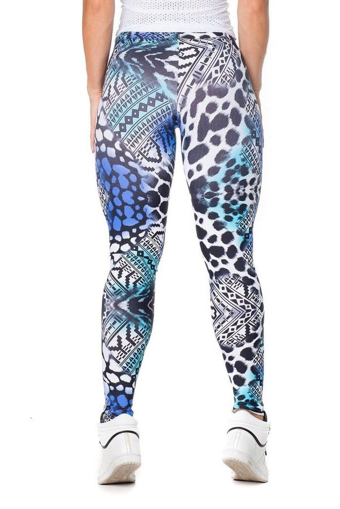 These leggings have a fun animal and aztec print. The waistband has a cinched design that sits smoothly against the waist perfectly flatters any shape without pinching. These leggings are made of AMNI®, a technological and super light fabric that provides greater comfort, flexibility and breath-ability to the wearer. More Cheap Athletic, Affordable Athletic, Cheap Gym, Aztec Prints Legs, Affordable Workout, Athletic Clothing, Affordable Gym, Cheap Workout, Aztec Print Leggings These…