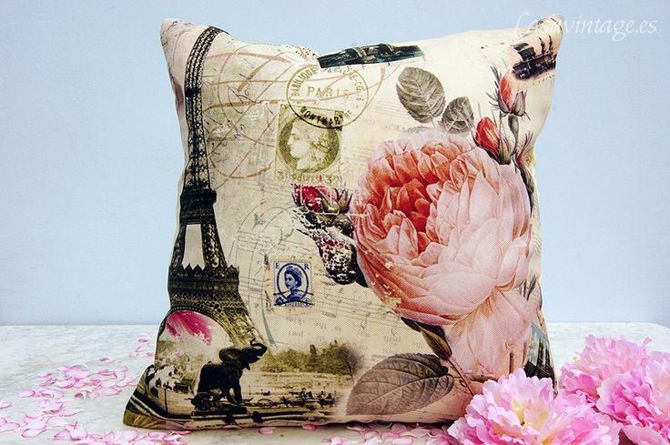 Casa Vintage | Funda/cojín Blossom | Tienda online de decoración, antigüedades...
