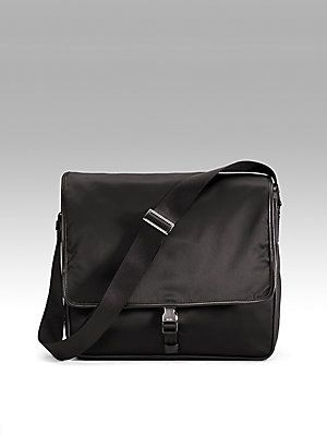 Prada Single Clip Messenger Bag