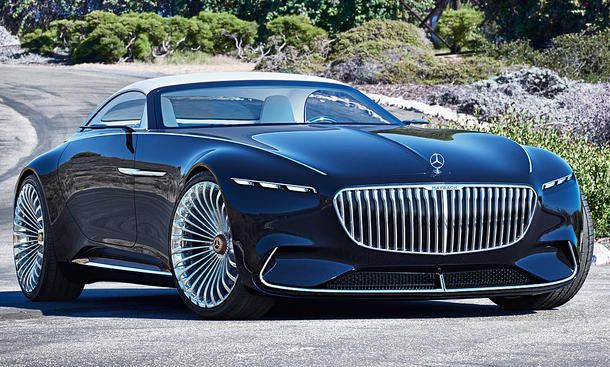Vision Mercedes-Maybach 6 Cabrio: Pebble Beach 2017 | autozeitung.de