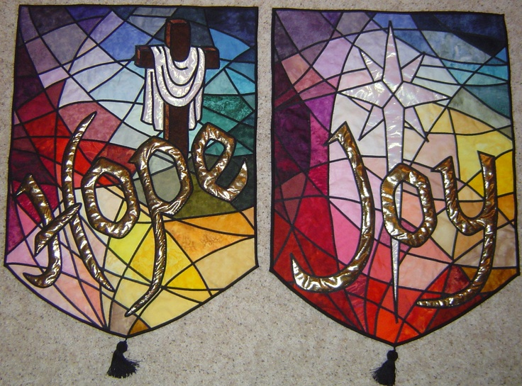 155 best worship art committee images on Pinterest | Church ... : quilted church banners - Adamdwight.com
