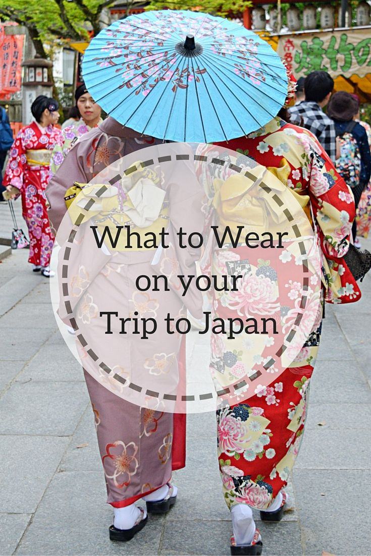 What to wear and pack for Springtime in Japan