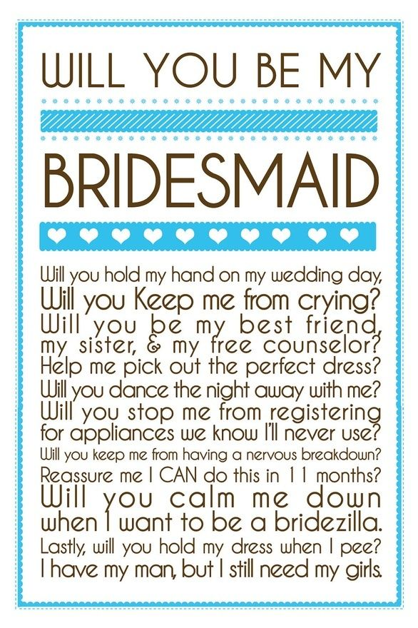 Coqui Design would love to help you come up with a creative way to ask your bridesmaids! www.coquidesign.com
