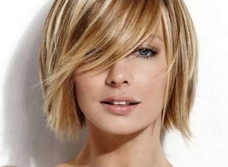 Resultado de imagen para cabello corto rubio con mechas