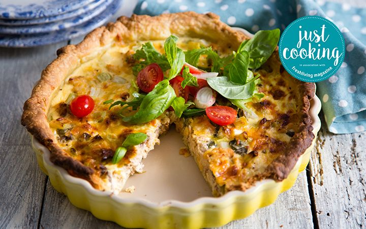 As cooked by Justine Drake on Just Cooking Season 2 episode 20.