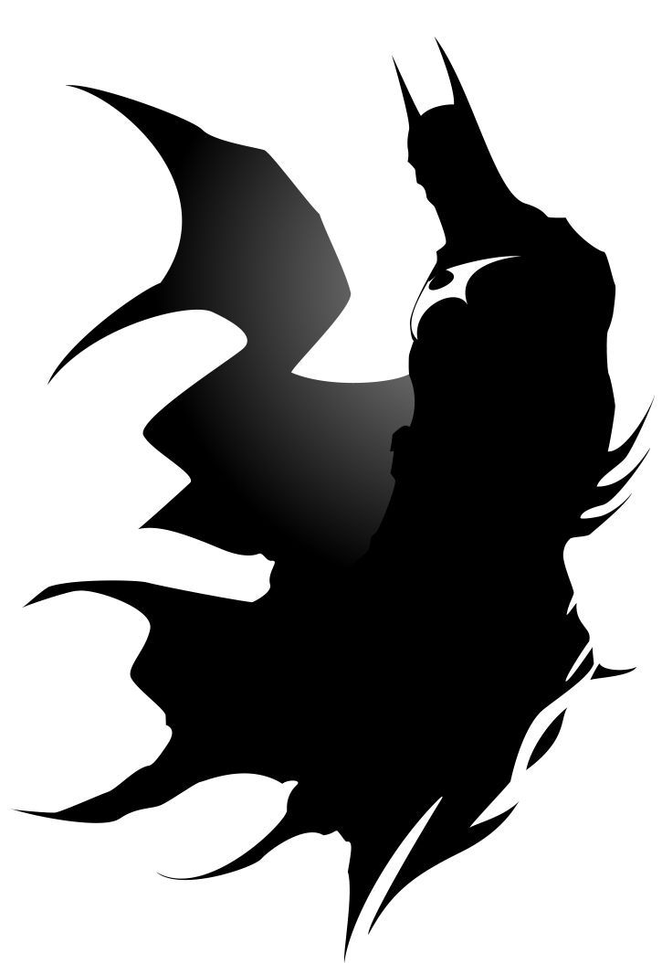 Batman Silhouette By Dbeadle Batman Silhouette Png Great Free Clipart Silhouette Coloring Pages Batman Silhouette Superhero Silhouette Batman Art Drawing