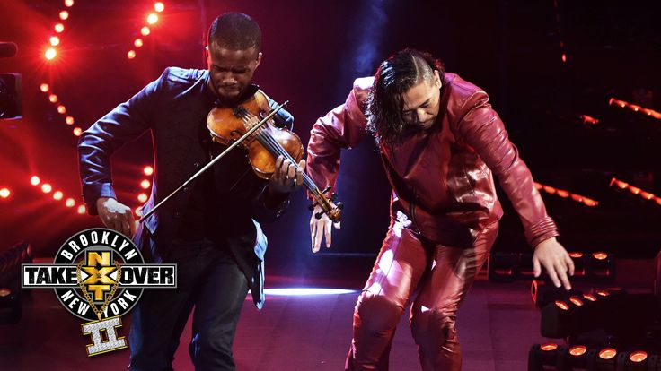 Shinsuke Nakamura's entrance: NXT TakeOver: Brooklyn II, only on WWE Net...