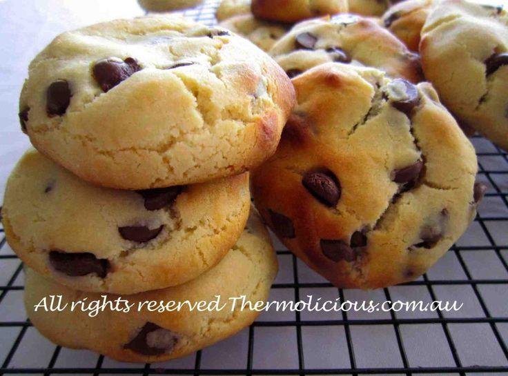 Condensed milk chocolate chip biscuits