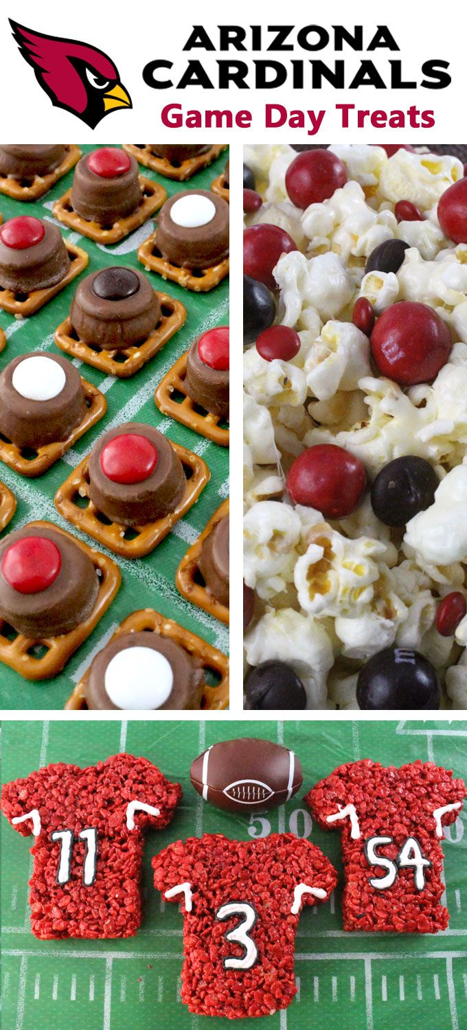 If you are a Arizona Cardinals fan and it is Game Day, you'll want to make one (or all) of our Arizona Cardinals Game Day Treats for your football watching family members. These are fun Red and White football desserts that are perfect for a game day football party, an NFL playoff party or (hopefully!!!) a Super Bowl party. Follow us for more fun Super Bowl Food Ideas.