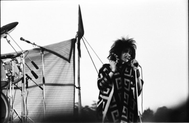 Siouxsie Sioux of the Banshees