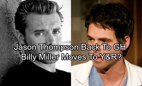 General Hospital Spoilers: Jason Thompson Back as Dr. Patrick Drake – Billy Miller Takes Thompson's Y&R Role