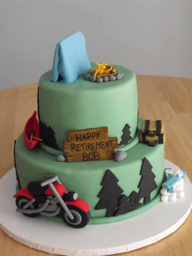 Men S Retirement Cake Images Bob S Retirement Retirement Celebration Cake For A Man