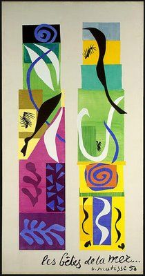 Henri Matisse (1869-1954) Beasts of the Sea