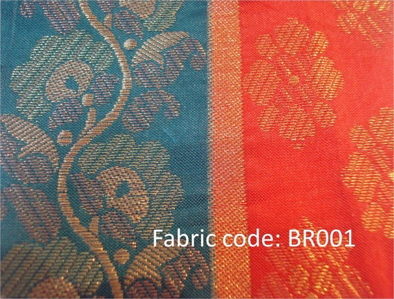 Brocade Fabric made in India  price is for 1 by AphroditesHandbags, $8.00