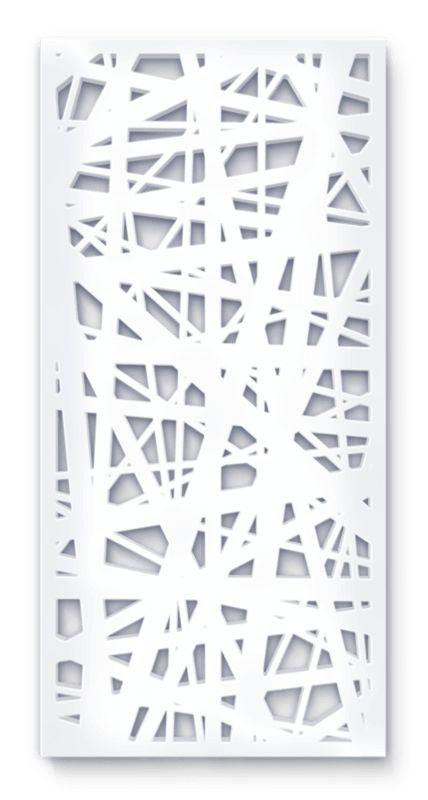 laser cut screen lines linea pattern