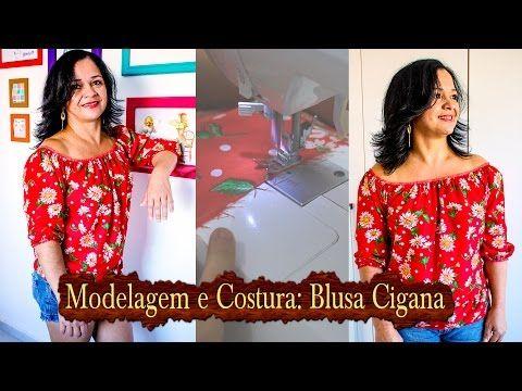 Aula 10: Modelando o Decote princesa # Corte, costura e modelagem com Elisa Crochê - YouTube