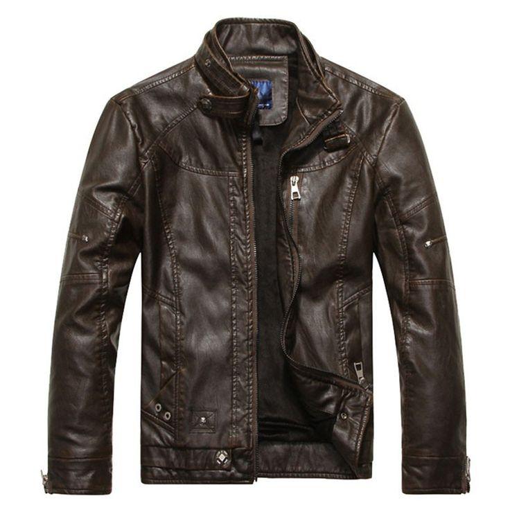 Classic Bad Boy Leather Jacket
