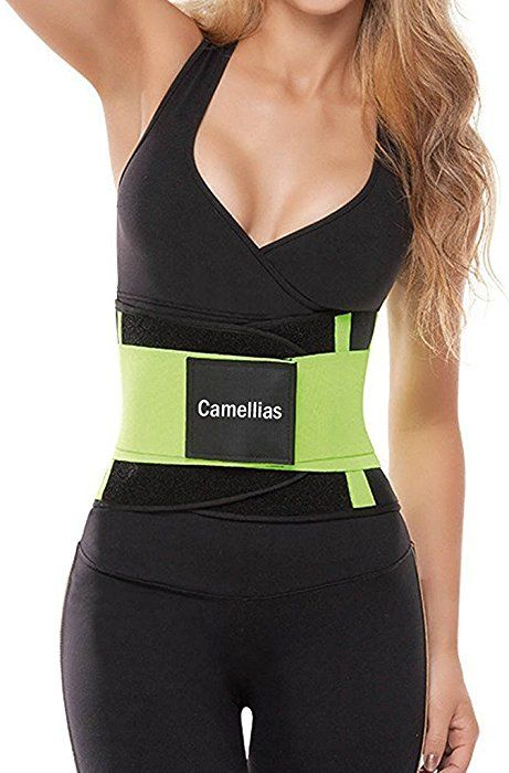 725f025474b Camellias Women s Waist Trainer Belt - Waist Training Corset Waist Cincher  Cinching Slimming Body Shaper-