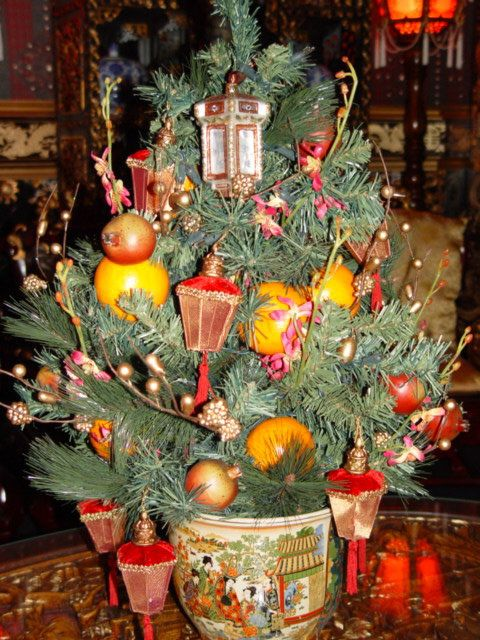 chinese christmas tree | Christmas | Pinterest | Christmas, Chinese ...