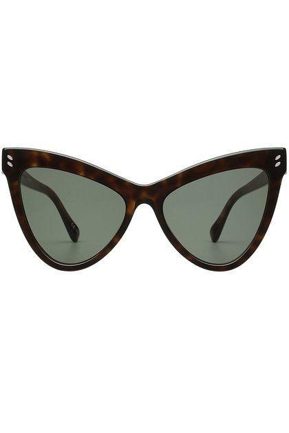 STELLA MCCARTNEY EYEWEAR - Cat-Eye Sunglasses   STYLEBOP