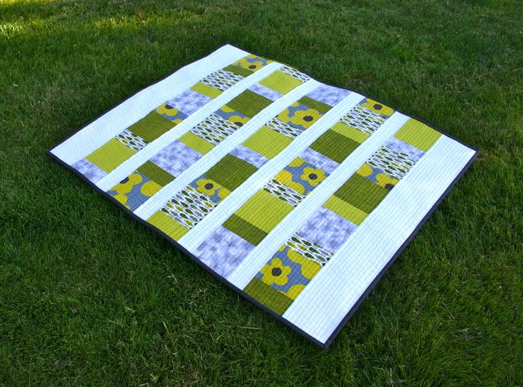 Charm squares baby quilt is a perfect first quilt pattern download