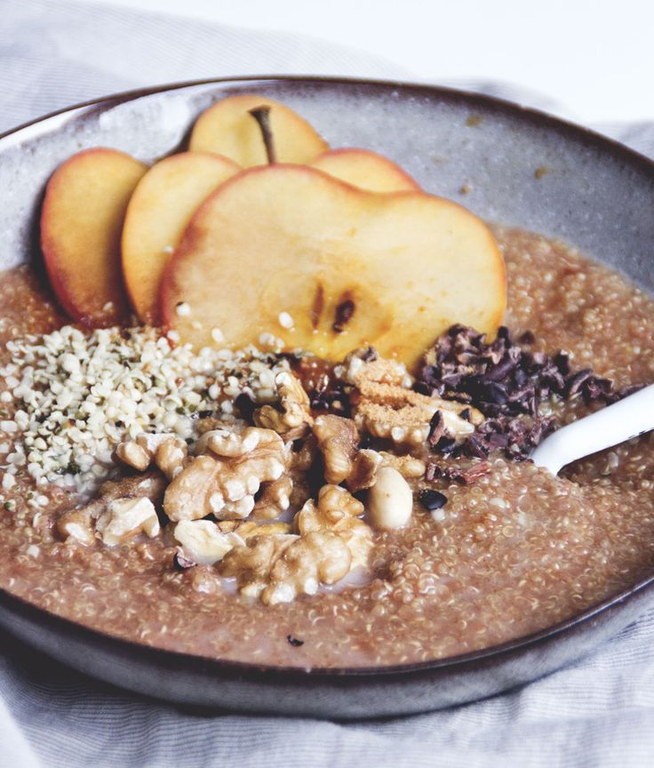 Apfel-Zimt Quinoa Frühstück