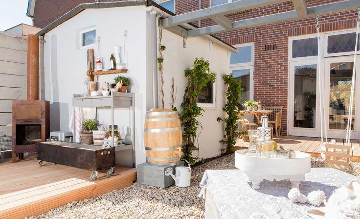 De tuin bij Enide en Jeroen uit aflevering 4, seizoen 2   kijken kopen en klussen   Make-over door: Leonie Mooren   Fotografie Barbara Kieboom