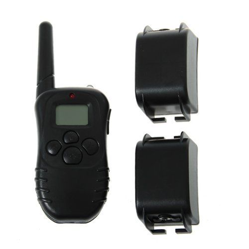 ElementDigital(TM) Lovely Rechargeable Wireless LCD Digital Dog Smart Electric Training Shock Collar