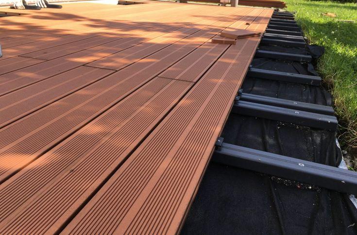 Wpc Terrasse Selber Verlegen In 2020 Terrassendielen