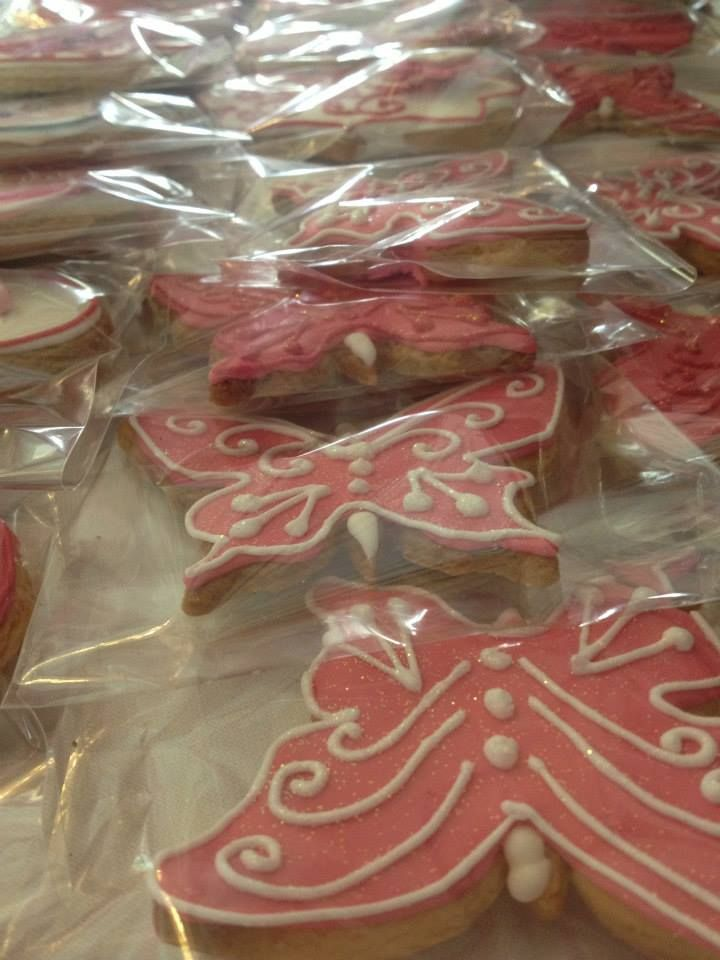 Butterfly biscuits - such a treat!