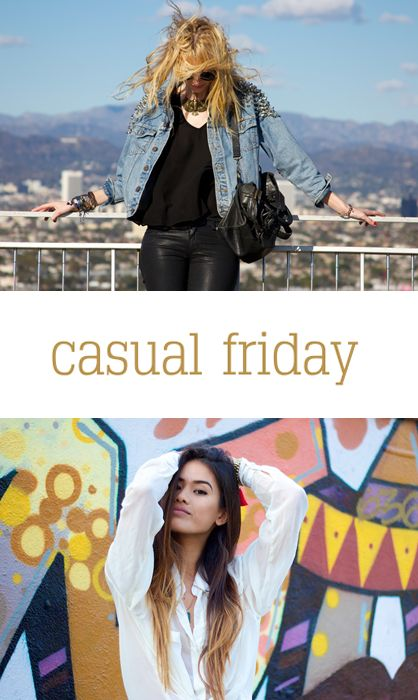 Casual Friday: Casual Fridays, Bloggers Spotlight