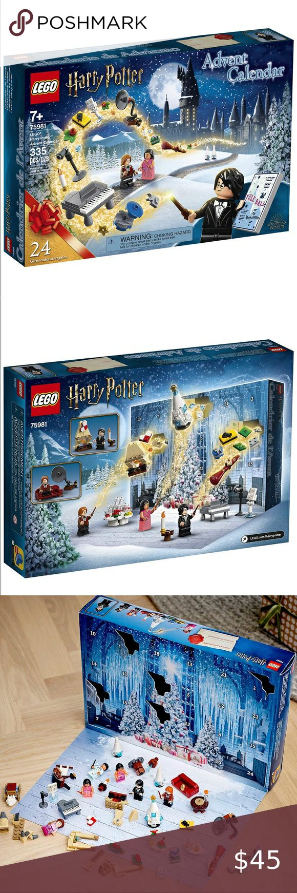 New 2020 Great Christmas or Birthday Calendar Gift Collectible Toys from The Hogwarts Yule Ball 335 Pieces Harry Potter and The Goblet of Fire and More LEGO Harry Potter Advent Calendar 75981