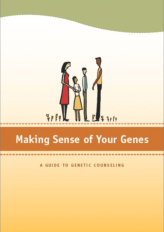 12 best genetic drift images on pinterest genetic drift gout and making sense of your genes a guide to genetic counseling fandeluxe Choice Image