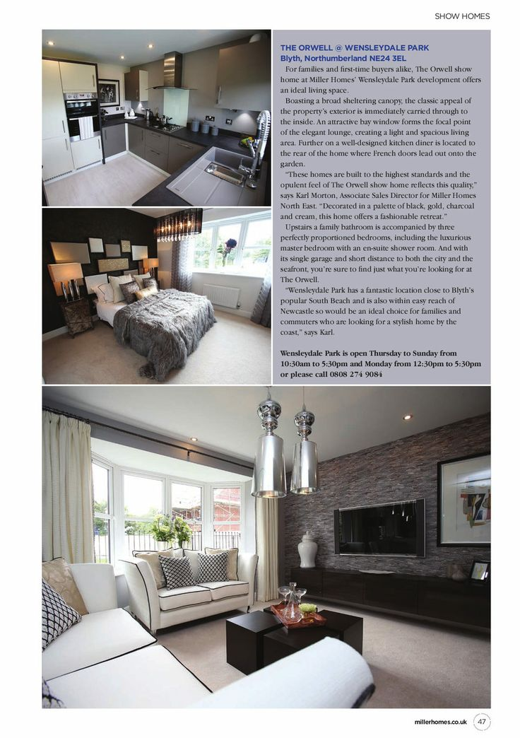 Exquisite New Homes Magazine for Miller Homes 2014 - Digital Edition