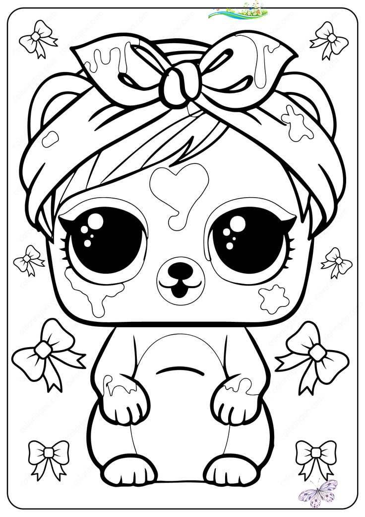 Free Printable Lol Surprise Coloring Pages Free Printable Lol Surprise Coloring Pages Lol Unicorn Coloring Pages Fairy Coloring Pages Cartoon Coloring Pages