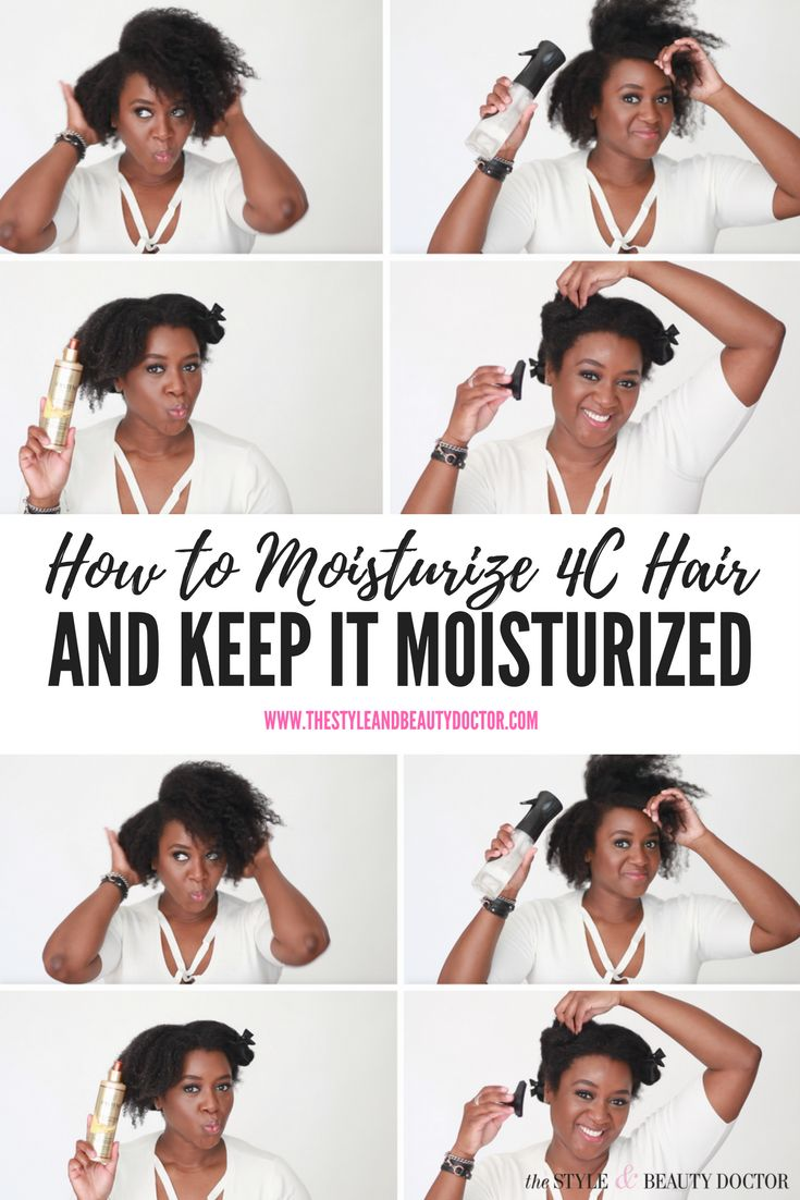 How to Moisturize 4C Hair and Keep It Moisturized