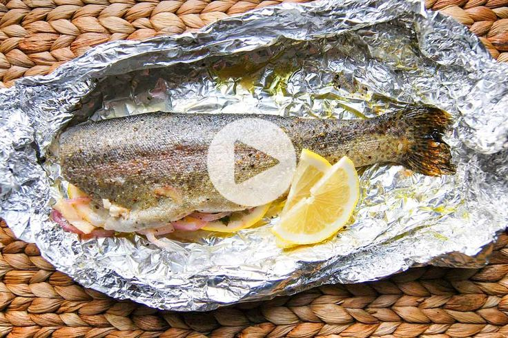 how to cook whole trout in a pan