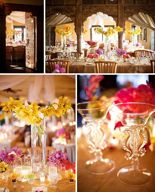 EXTRAVAGANT WEDDING RECEPTIONS IDEAS