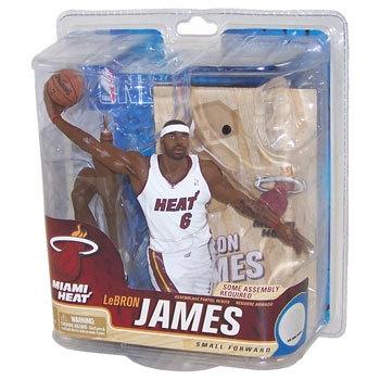 McFarlane Toys Figure NBA Sports Picks 21 Lebron James Miami Heat New | eBay