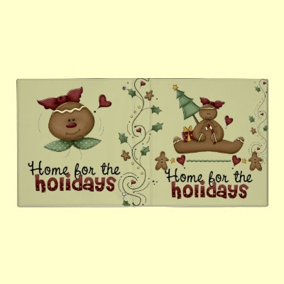 Cute Holiday Recipe Binder  Look for the matching recipe sheets!  What a sweet way to keep all your favorite Christmas recipes. Think of what a great gift a book of recipes would be! Dessert Recipe book cute and ready to hold your treasures!
