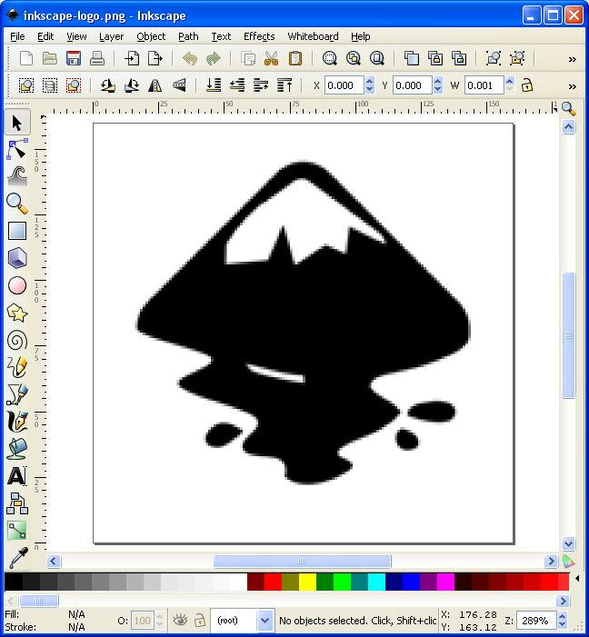 inkscapescreenshot   Increase Image Resolution: Convert Raster Images to Vector