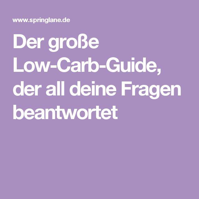Der große Low-Carb-Guide, der all deine Fragen beantwortet