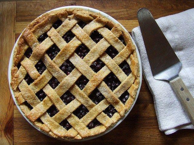 Idaho huckleberry pie recipe