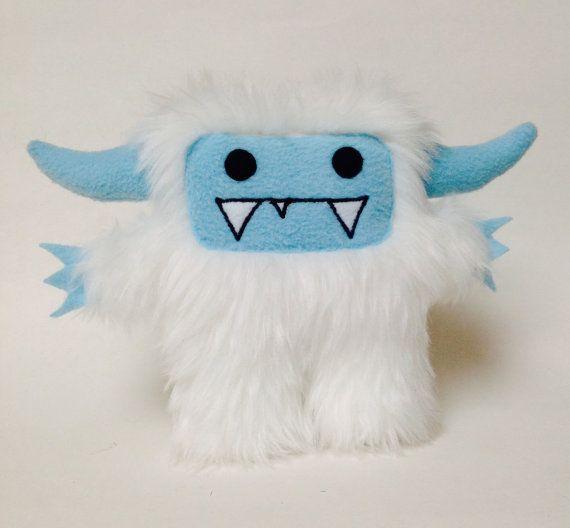 Jack the abominable snowman yeti plush monster